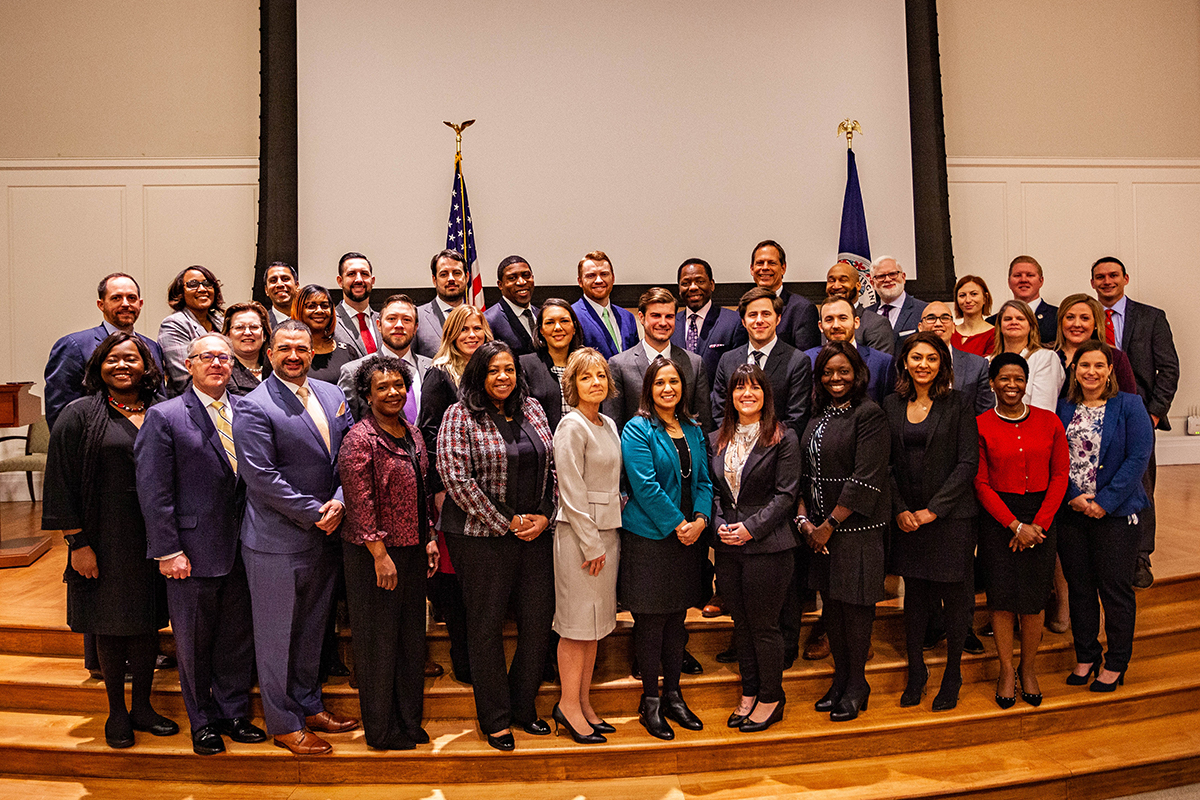 Members of the Political Leaders Program Class of 2019